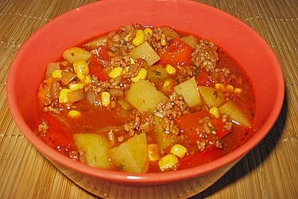 Bunter Fleisch-Kartoffel Topf - Bauerneintopf 7