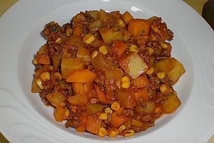 Bunter Fleisch-Kartoffel Topf - Bauerneintopf 16