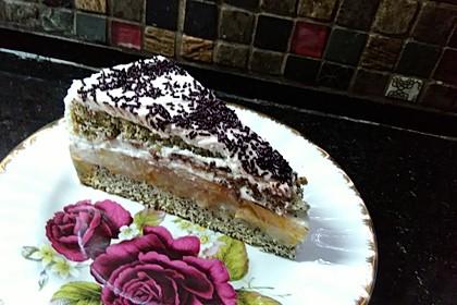 Birne - Mohn - Torte (Bild)