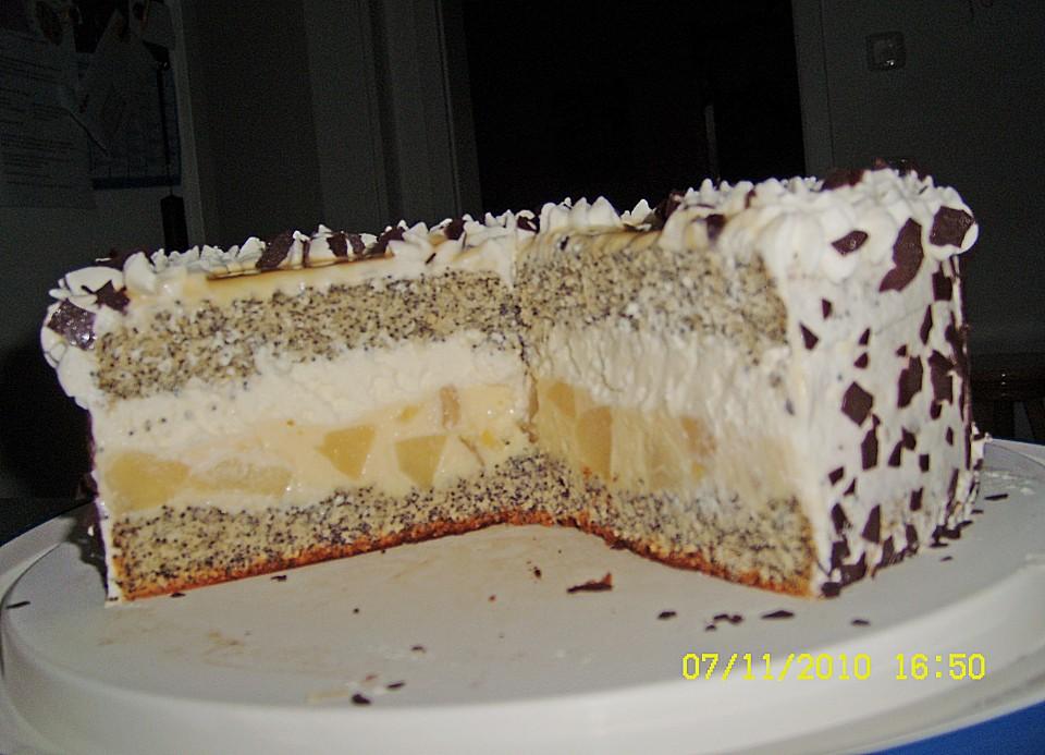 Birne Mohn Torte Von Monimahoni0905 Chefkoch De