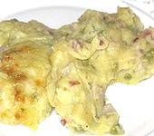 Überbackenes Kartoffelpüree auf deftige Art (Bild)