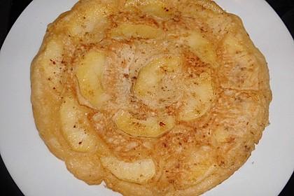 Apfel - Pfannkuchen 11