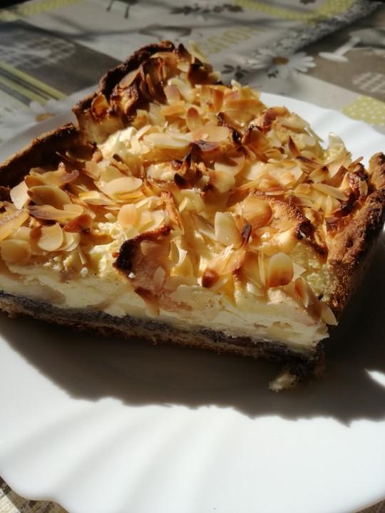 Apfel Mohn Quark Kuchen Von Eve 88 Chefkoch De