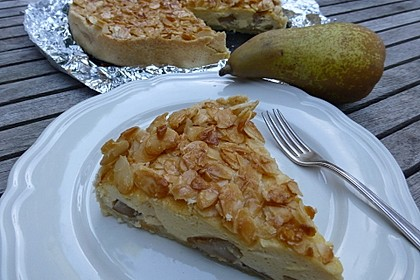 Birnen - Karamell - Käsekuchen 16