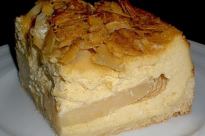 Birnen - Karamell - Käsekuchen 39