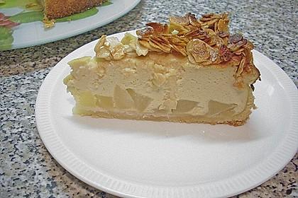 Birnen - Karamell - Käsekuchen 7