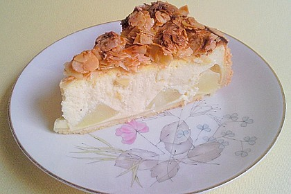 Birnen - Karamell - Käsekuchen 27