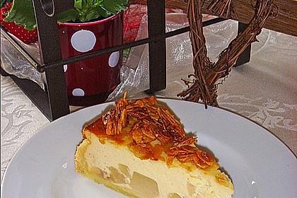 Birnen - Karamell - Käsekuchen 3