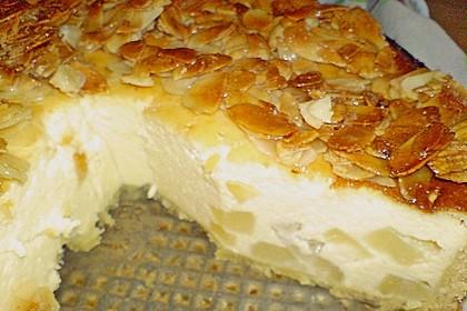 Birnen - Karamell - Käsekuchen 91