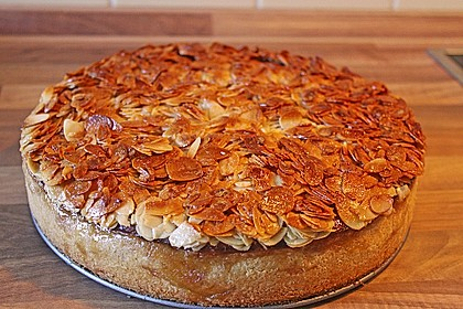 Birnen - Karamell - Käsekuchen 1