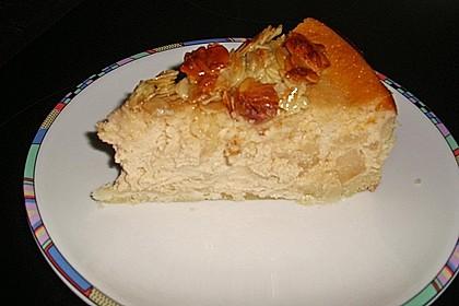 Birnen - Karamell - Käsekuchen 93