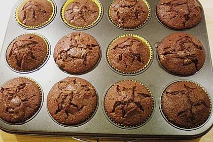Schoko Schocker-Muffins (Bild)