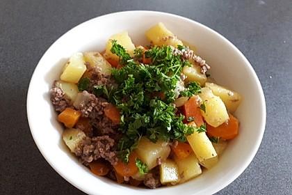 Hackfleisch - Kartoffel - Möhren - Eintopf 30