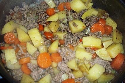 Hackfleisch - Kartoffel - Möhren - Eintopf 68