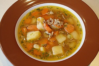 Hackfleisch - Kartoffel - Möhren - Eintopf 11