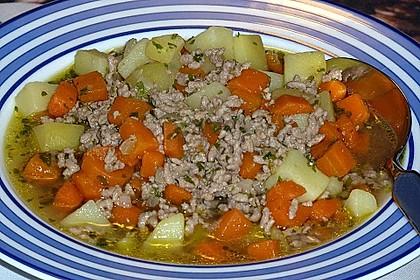 Hackfleisch - Kartoffel - Möhren - Eintopf 39