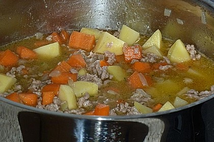 Hackfleisch - Kartoffel - Möhren - Eintopf 62
