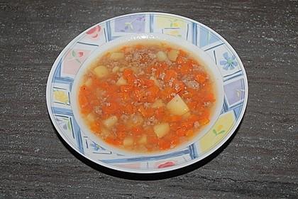 Hackfleisch - Kartoffel - Möhren - Eintopf 60