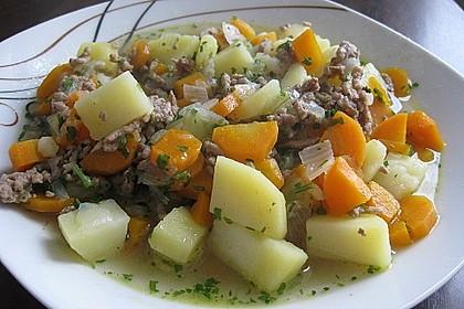 Hackfleisch - Kartoffel - Möhren - Eintopf 28