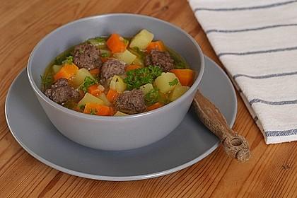 Hackfleisch - Kartoffel - Möhren - Eintopf 4