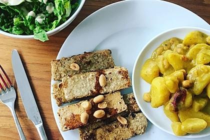 Kartoffel - Curry mit Erdnüssen