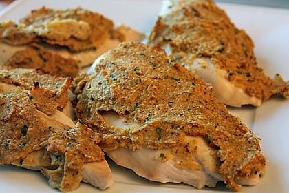 Hähnchenbrustfilet mit Senfkruste 1