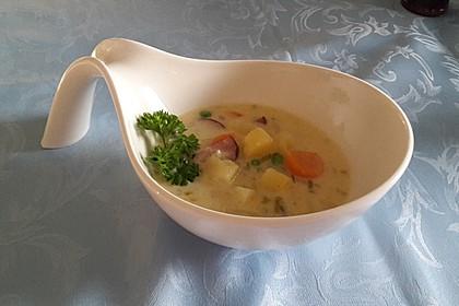 Cabanossi - Eintopf mit Kartoffeln und Käse