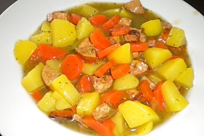 Cabanossi - Eintopf mit Kartoffeln und Käse 8
