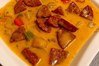 Cabanossi - Eintopf mit Kartoffeln und Käse 1