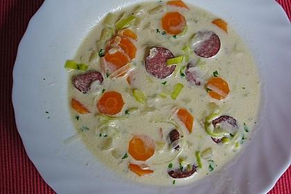 Cabanossi - Eintopf mit Kartoffeln und Käse 6