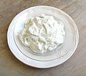 Quark - Gurken - Knoblauch - Salat (Bild)