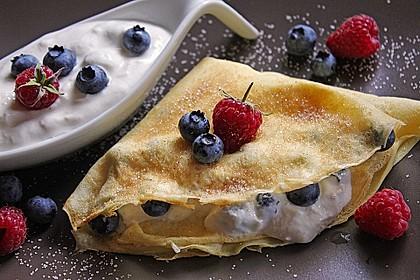 Perfekter Pfannenkuchen