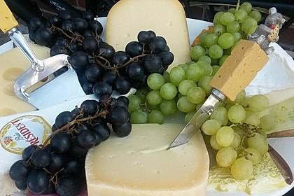 Italienische Käseplatte zu Tomaten - Chutney 1