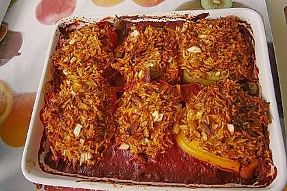 Gefüllte Paprika mit Thunfisch 3