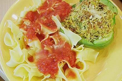 Gefüllte Paprika mit Thunfisch 5