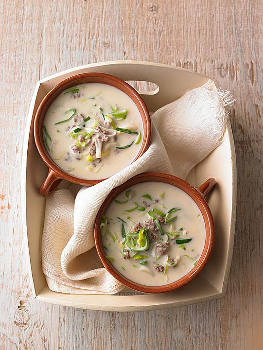 Käse lauch suppe einfach