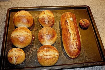 Verbessertes Brötchen oder Baguette Rezept 17
