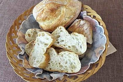 Verbessertes Brötchen oder Baguette Rezept
