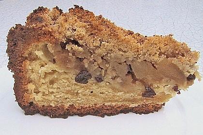 Apfelkuchen mit zimtig - frischen Streuseln