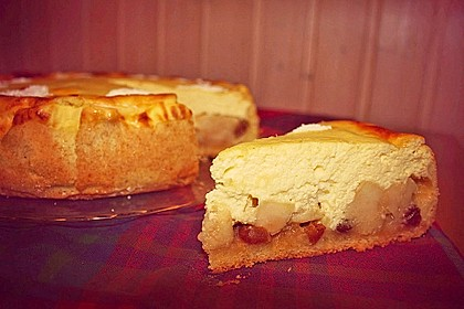 Bratapfel - Käsekuchen 13