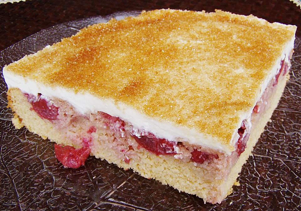 Beschwipster Kirsch Mandelkuchen Von Chaclara Chefkoch De