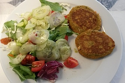 Meine veganen Linsenbratlinge 2