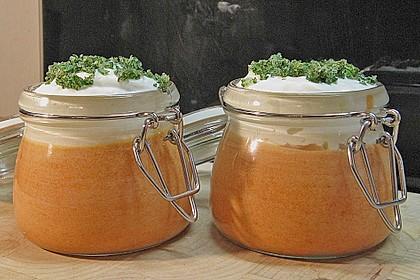 Tomaten - Paprika - Mousse
