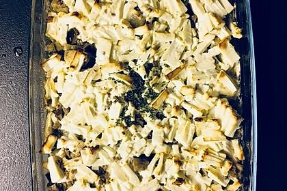 Zucchini - Hackfleisch - Auflauf mit Feta 19