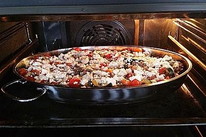 Zucchini - Hackfleisch - Auflauf mit Feta 2