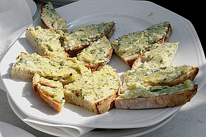 Crostini mit Zucchini - Püree 2