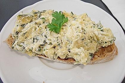 Crostini mit Zucchini - Püree 4