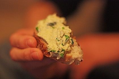 Crostini mit Zucchini - Püree 15