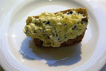Crostini mit Zucchini - Püree 16