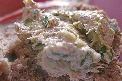 Crostini mit Zucchini - Püree 18